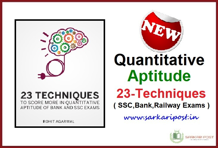 Quantitative Aptitude Techniques