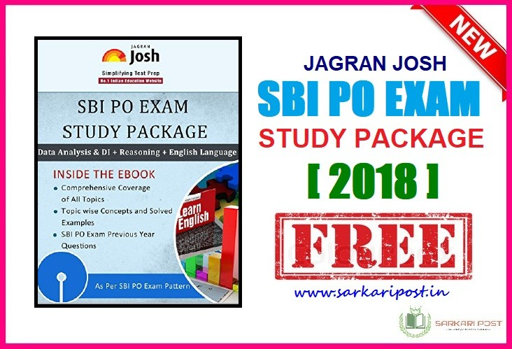 SBI PO Exam Study Package 2018