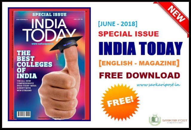 Special Issue India Today June 2018