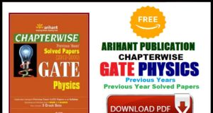 Arihant GATE Physics