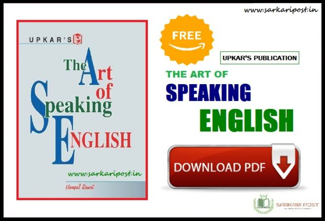 The Art of Speaking English Book