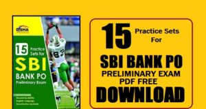 Practice Sets For SBI Bank PO