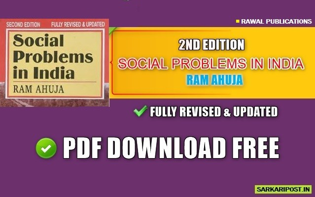 Social Problems in India Book