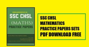 SSC CHSL Maths Practice Paper Sets