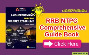RRB NTPC Comprehensive Guide Book Pdf