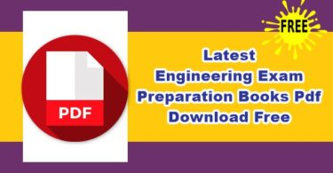 Engineering Exam Preparation Books Pdf