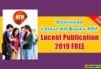 Latest All Books PDF Of Lucent Publication 2019