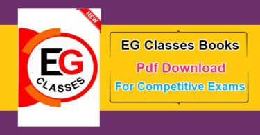 EG Classes Books Pdf Download