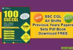 SSC CGL All Shifts Previous Years Papers Sets Pdf Book