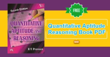 Latest Quantitative Aptitude and Reasoning Book PDF