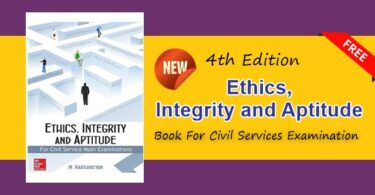 Ethics Integrity and Aptitude Book