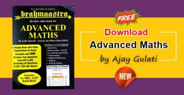 Advanced Maths Pdf Book